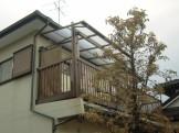 テラス屋根の取替工事
