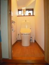トイレの改修工事完了