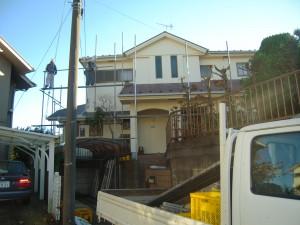 外壁屋根塗装工事完了 町田市