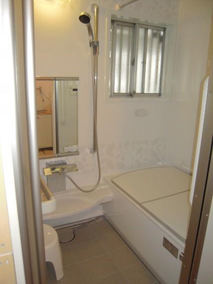 浴室改修工事完了