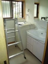 タカラの洗面化粧台オンディーヌ取付完成