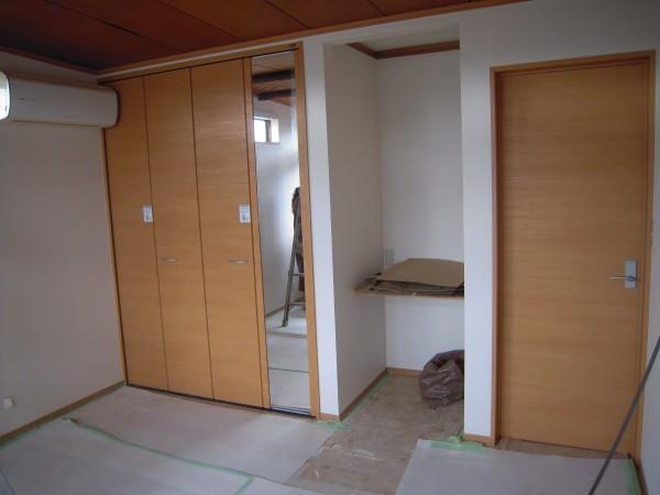 和室を洋室にする工事