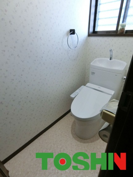 節水型トイレにリフォーム
