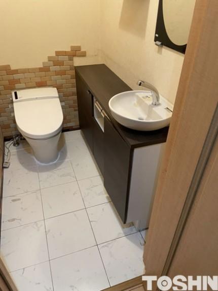 おしゃれなトイレ手洗い器
