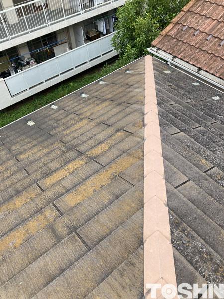 屋根の点検塗装 点検風 相模原市