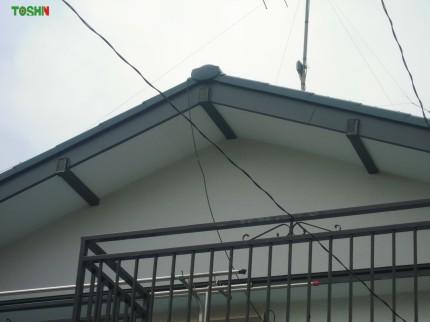 破風板の板金処理