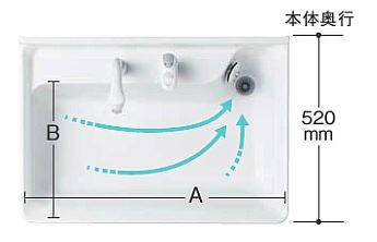 スイスイボウル洗面台