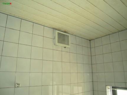 後付浴室換気暖房乾燥機 施工前