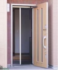 玄関ドア用網戸「トレミド」