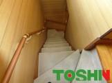 階段のカーペット張替え前