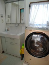 TOTOの洗面化粧台リモデア