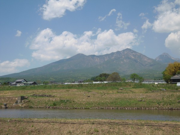 八ヶ岳がきれいでした