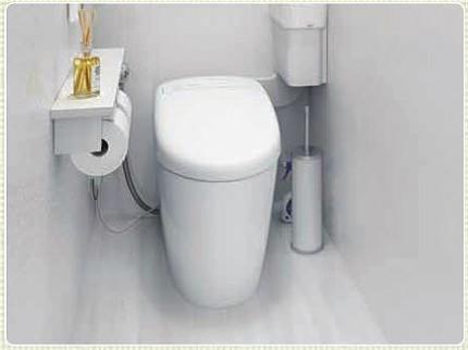 狭いトイレafter