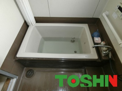 浴室修繕前