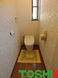 タンクレストイレですっきりリフォーム