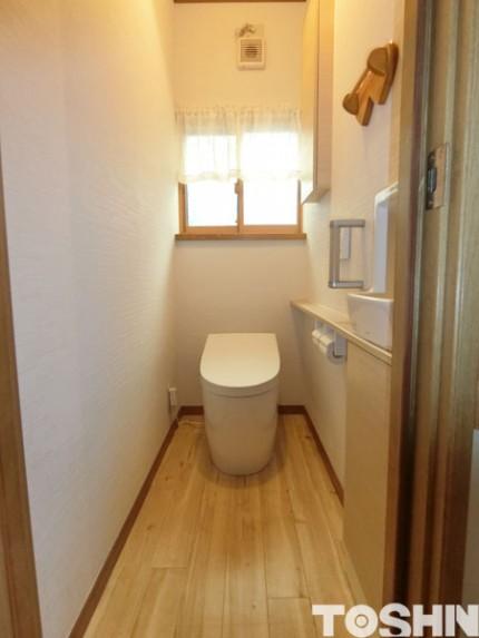 システムトイレでトイレをリフォーム