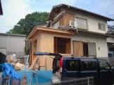 増築工事の施工過程です神奈川