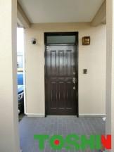 リシェントM12型で玄関ドア交換
