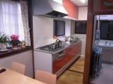 システムキッチン工事完了です