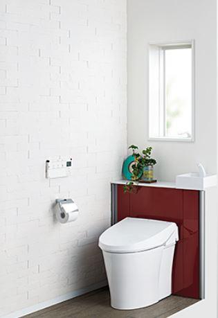 キャビネット付きトイレ「リフォレ」【LIXIL】