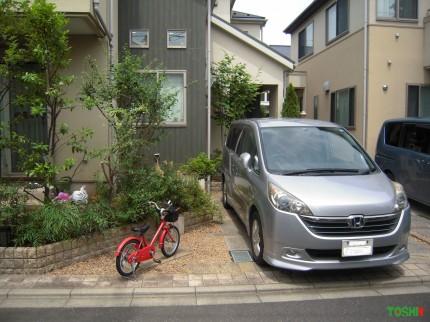 駐車スペースの拡張②施工前