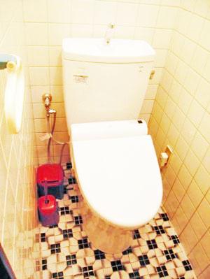 1階のトイレ 施工後