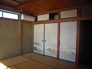 和室を洋室にするリフォーム工事