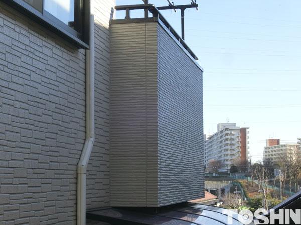 外壁サイディングの貼替