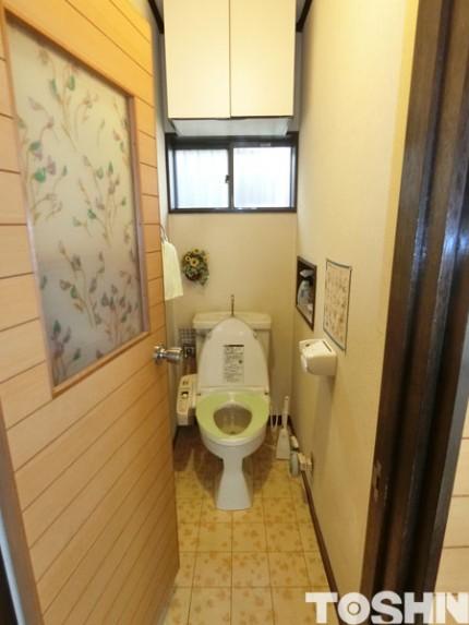 床が腐ってきたトイレをリフォーム