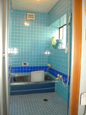浴室リフォーム施工前の様子