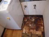 洗面所の床改修工事