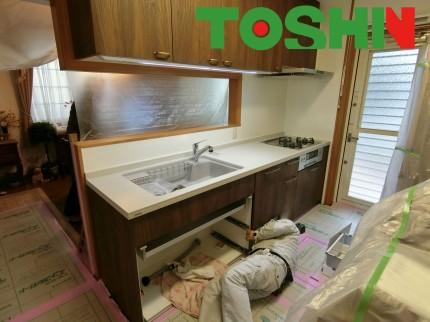 キッチン設備工事