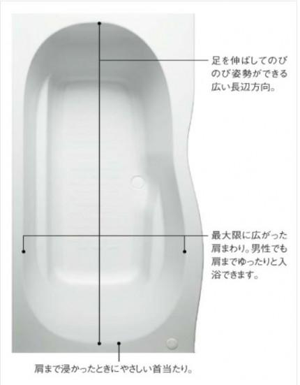 1600ロング浴槽