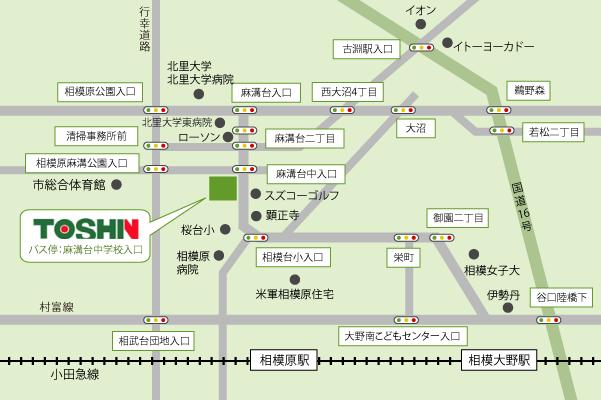 東神ハウスアクセスマップ